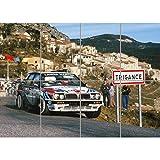 Doppelganger33 LTD Lancia Delta Integrale Rally Car Large Wall Art Multi Panel d'affiche 47x33...