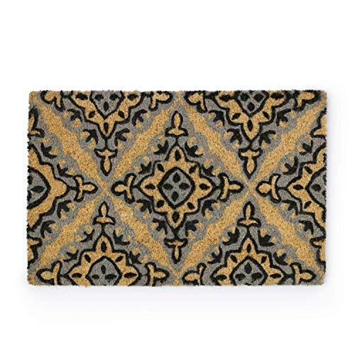 Montse Interiors - Fußmatte, 40 x 60 cm | Fußabtreter - Schmutzfangmatte: Vorleger für den Eingangsbereich - Fußabtreter im Vintage Design 'Nery'