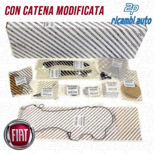KIT CATENA DISTRIBUZIONE 15 PZ. FIAT 1.3 MULTIJET ORIGINALE FIAT CON CATENA MODIFICATA 71776647