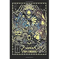 """Super Metroid: Type C  Legacy Wide Ruled Notebook, Journal for Writing, Size 6"""" x 9"""", 110 Pages"""