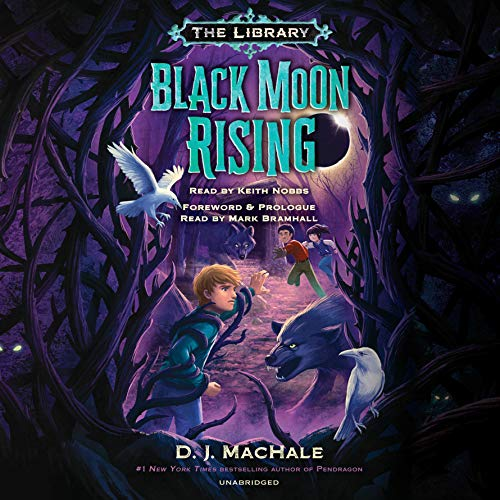 Black Moon Rising audiobook cover art