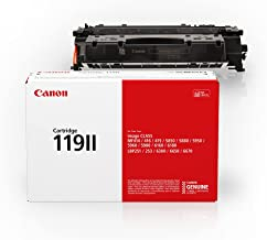 Canon Genuine HIGH Capacity Toner Cartridge 119 II, Black