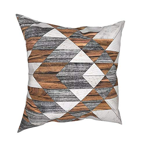 Fundas de Almohada Almohadas lumbares Almohadas de Coche Cojines de patrón Tribal Urbano para sofá Fundas de Almohada Divertidas Decorativas Funda Almohada de Suelo para sofá