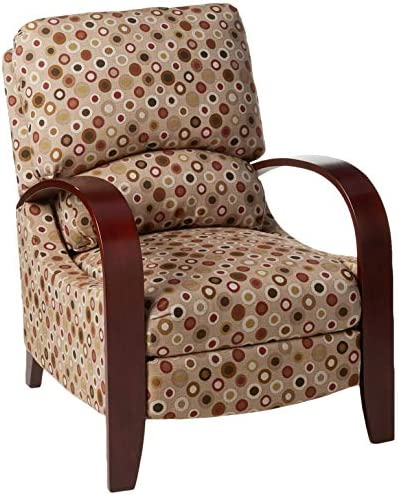 Best Madison Park Archdale Recliner Chair-Solid Wood, Plywood, Deep Seat Accent Armchair Modern Classic D