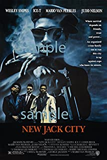 New Jack City Poster 24x36 Fast shipping in tube from the USA Ships from USA Ships Rolled In Cardboard Tube