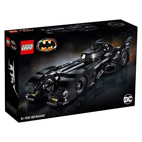 LEGO DC Super Heroes 1989 -Juguete de construcción del Batmóvil