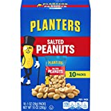 Planters Salted Peanuts (60 Packets, 6 Packs of 10)