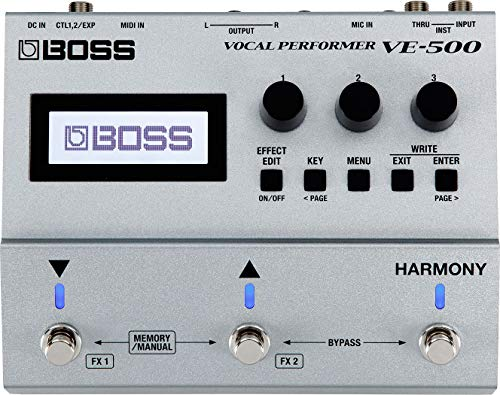 BOSS Vocal Performer Effects Processor Guitar Pedal (VE-500)