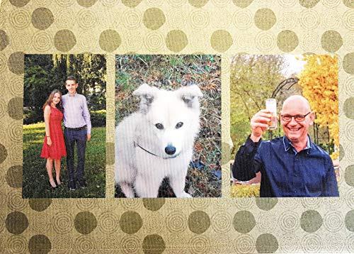 Tischset mit Foto, Platzset, Platzdeckchen mit Fotodruck, Fotocollage, individuell bedruckt, waschbar, hochwertiges Geschenk, Erinnerung