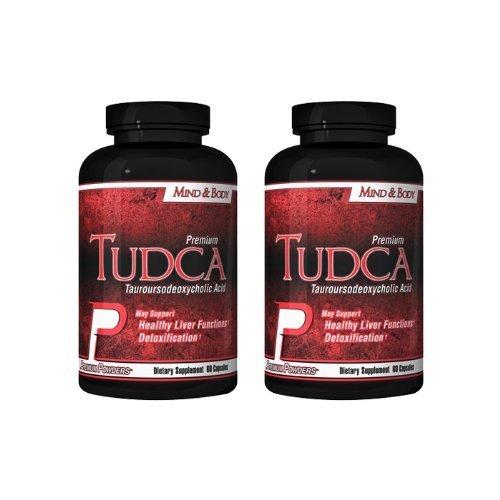 TUDCA (Tauroursodeoxycholic Acid) 2 bottles by Premium Powders