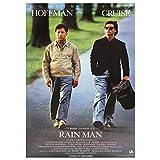 Lomoko Rain Man Movie Character Cover Poster Malerei