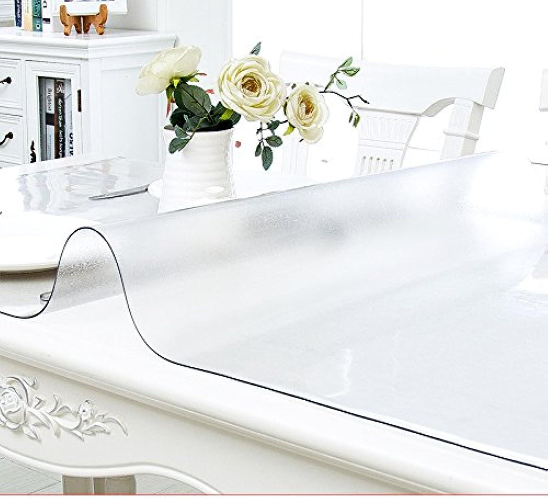 AMYDREAMSTORE Klar, tischtuch Kunststoff Tabelle beschützer Oben Wasserdicht Anti-Öl Transparente pad Tischmatte Kristall-C 85x135cm(33x53inch) B07D8Y61SR eine große Vielfalt  | Optimaler Preis