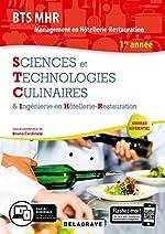 Sciences et Technologies Culinaires & Ingénierie en Hôtellerie-Restauration BTS MHR Management en Hôtellerie-Restauration 1re année de Bruno Cardinale