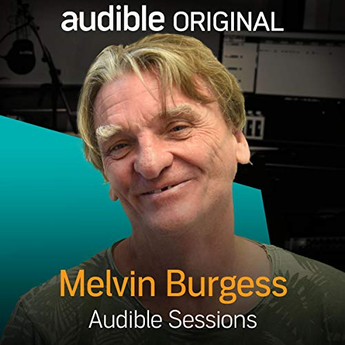 Melvin Burgess audiobook cover art