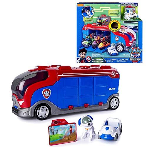 PAW PATROL Mission Cruiser | Patrulla Canina | Camión Mini Vehículos y Sonido