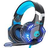 VersionTECH. Gaming-Headset BX022 blau blau