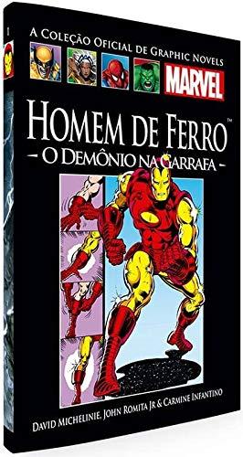 Homem De Ferro - O Demônio Na Garrafa (Coleção Oficial de Graphic Novels Marvel, n°01)
