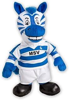MSV Duisburg Ennatz 35 cm Maskottchen, Kuscheltier - Plus Lesezeichen Wir lieben Fußball