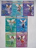 Rainbow Magic: The Ocean Fairies Complete Set, Books 1-7 (Ally the Dolphin Fairy, Amelie the Seal Fairy, Pia the Penguin Fairy, Tess the Sea Turtle Fairy, Stephanie the Starfish Fairy, Whitney the Whale Fairy, Courtney the Clownfish Fairy)