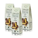 Deseo Galletas con almendras Cantuccini Toscani IGP - Lote de 3 x 250g