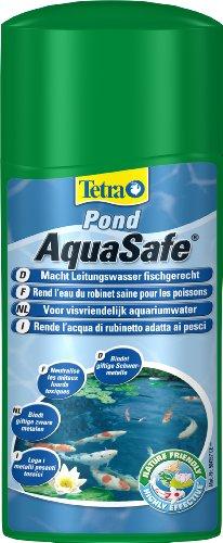 Tetra Pond AquaSafe - Wasseraufbereiter für Teiche - Passt Leitungswasser an das Leben der Fische - angereichert mit wichtigen Inhaltsstoffen und setzt die Grundlagen für EIN gesundes Leben - 500 ml