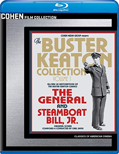 The Buster Keaton Collection - Volume 1 (The General / Steamboat Bill, Jr.) [Blu-ray]