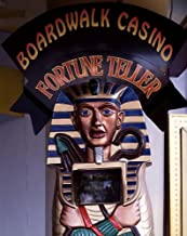 HistoricalFindings Photo: Photo of Fortune Teller Sign,Boardwalk Casino,Las Vegas,Nevada,NV,Highsmith