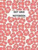 Dot grid Notebook:: flower cover, Large (8.5 x 11 inches) 120 pages