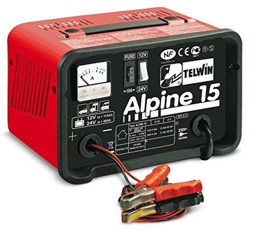 Auto Ladegerät 12 V und 24 V und Telwin alpine 15 Alpine 15
