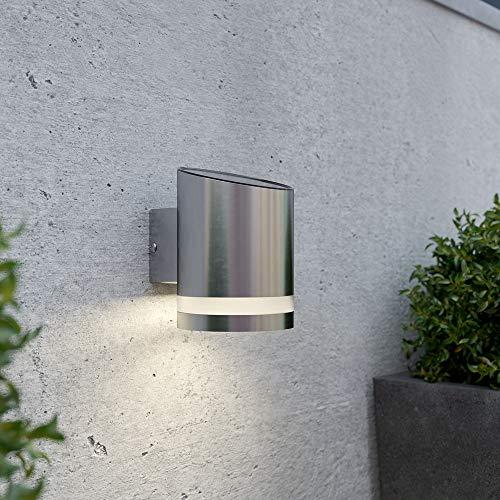 Truro Solar Powered Outdoor Wall Light