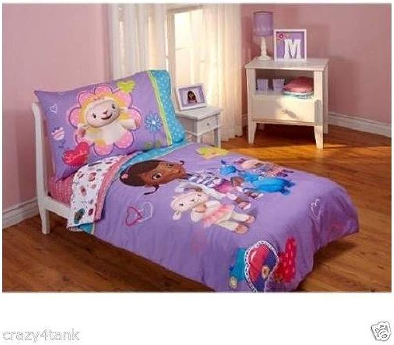 Disney Doc McStuffins 4 Piece Toddler Bedding Set Quilt Sheets And Pillowcase