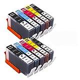 WTBH Cartucho de Tinta Reemplazo de Cartucho de Tinta Compatible 364XL para HP 364 XL Photosmart 5510 5515 5520 7520 B109A 6510 Deskjet 3070A 7510 Printe Reemplace el Cartucho de Tinta