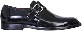 Moda Dolce E Gabbana Hombre A10644A120380999 Negro Cuero Zapatos con Correa Monk | Otoño-Invierno 20