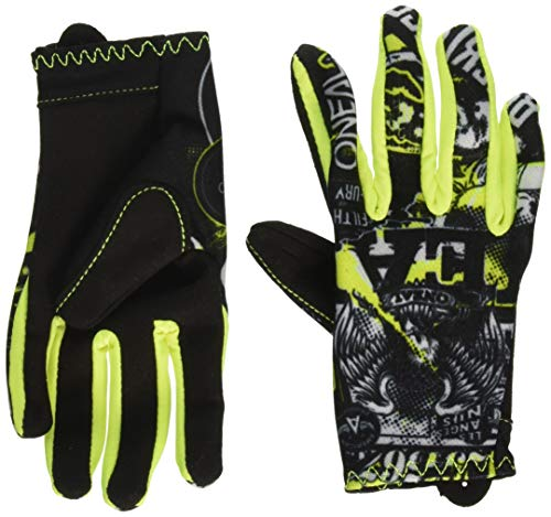 O'Neill MATRIX Youth Glove ATTACK black/hi-viz S/3-4