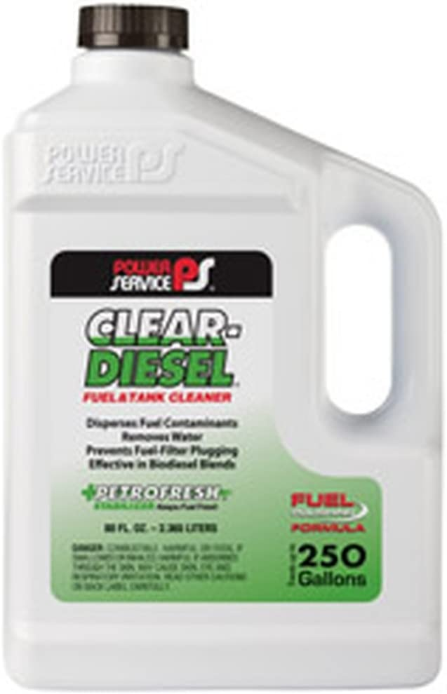 Power Service 09280-06 Clear-Diesel Fuel  Tank Cleaner - 80 oz.