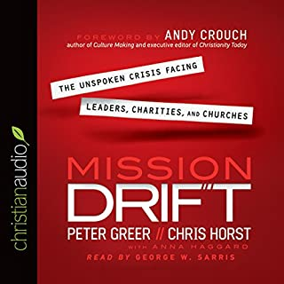 Mission Drift audiobook cover art