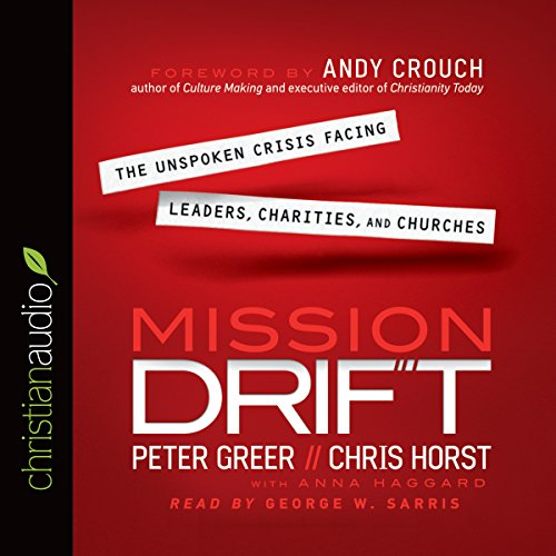 Mission Drift audiobook cover art