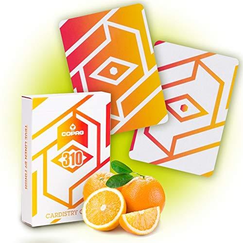 SOLOMAGIA Copag 310 Cardistry Cards - Alpha - Orange Slim Line
