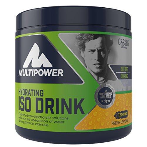 Multipower ISO Drink Suplemento Sabor Fresh Lemon - 420 gr