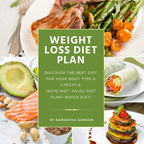 Weight Loss Diet Plan: Discover the Best Diet for Your Body Type & Lifestyle audiobook cover art