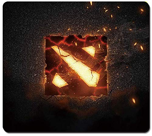 SMAIGE Gaming Mouse Pad/Mat with Smooth Silk Surface Stitched Edges, 11.8 × 9.8 × 0.12 Inches (30x25cm | Dota)