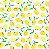 Textiles français Baumwollstoff | Saftige Zitronen Stoff -