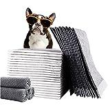 Training Pad Empapadores para Cachorros Almohadillas de Entrenamiento Absorbentes para Proteger el Suelo para Mascotas de Viaje para Perros o Gatos,XL