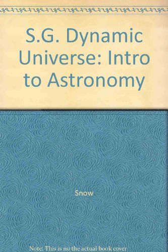 S.G. Dynamic Universe: Intro to Astronomy