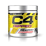 Cellucor C4 Ripped Pre Workout Powder Cherry Limeade | Creatine Free + Sugar Free Preworkout Energy Supplement for Men & Women | 150mg Caffeine + Beta Alanine + Weight Loss | 30 Servings