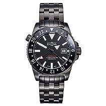Davosa Herren-Armbanduhr Argonautic GMT Analog Automatik Edelstahl 16151280