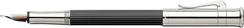 Graf von Faber-Castell 145553 Füllfederhalter Classic Ebenholz, Feder B, B, B, schwarz B000UTQ5OQ | Zart  2f83e6