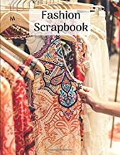 Fashion Scrapbook: Glue in images from magazines to save outfit & accessory ideas. Capsule wardrobe planner perfect gift for fashionista fashion blogger stylist & instagram fans
