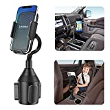 Lorima Car Cup Holder Phone Mount with A Long Flexible Neck for Cell Phones iPhone 11 Pro Max/SE/XS/Max/X/8/7 Plus/Galaxy/Google Pixel