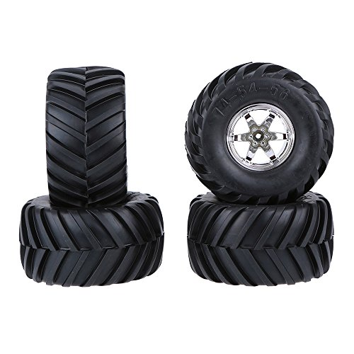 Goolsky 4pcs 1 10 Monster Truck Tire Reifen für Traxxas Tamiya HSP HPI Kyosho RC Modell Auto